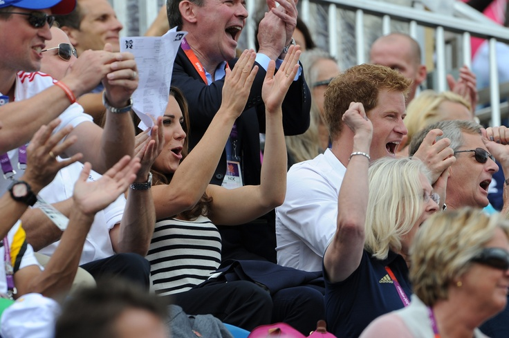 William and Kate were in the stands to cheer on their cousin Zara Phillips who added to the family silver on Tuesday (July 31st), helping team Britain to a second-place finish behind Germany in Olympic equestrian eventing.