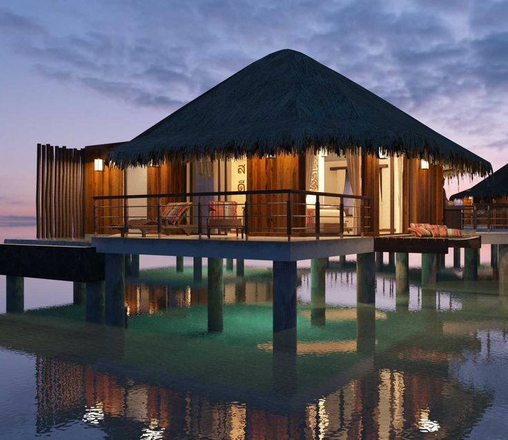 Mexico's First Over-Water Bungalows Are A South Of The Border Beauty. This is how you do the Mexican Riviera right.