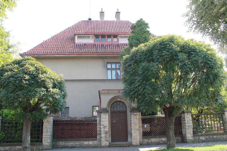 Vila Viléma Charváta        místo: Vysoké Mýto   autor: Jan Kotěra                   realizace: 1909 - 1911