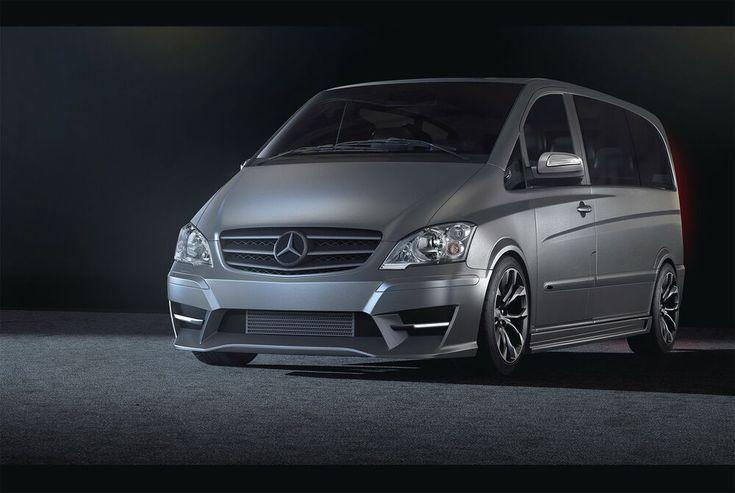 Sell Vito W639 bodykit front bumper rear bumper side skirts. – Hecksto … – Automobil
