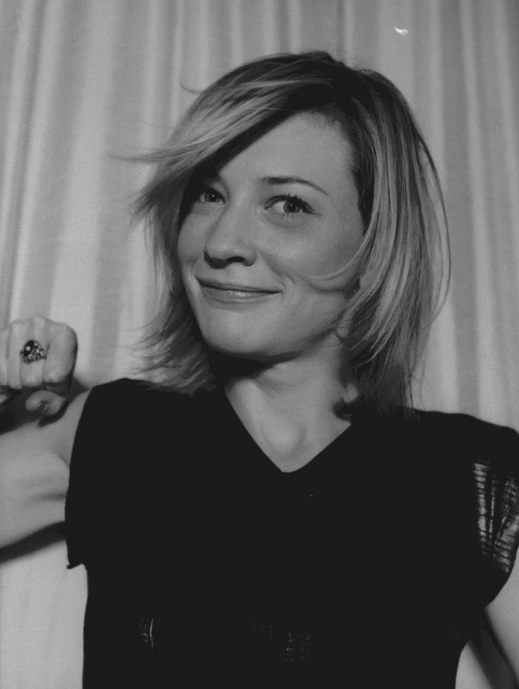 Cate Blanchett I love this photo.