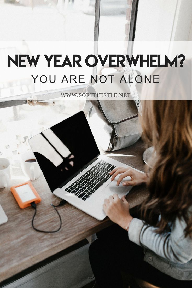New Year's can be a great time of year for planning the year ahead, but that can also be a stressful and overwhelming experience... you are not alone, and you are not behind.