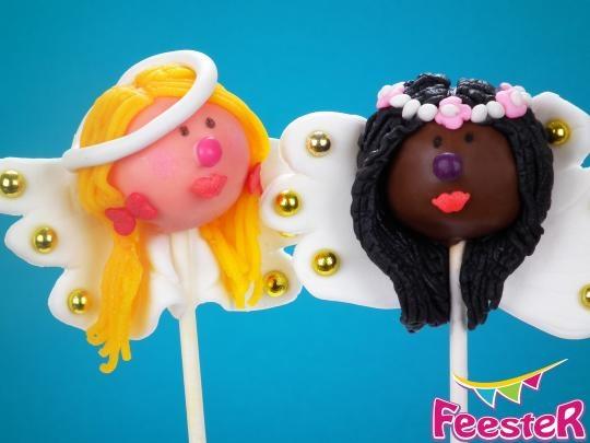 Cake pop engeltjes