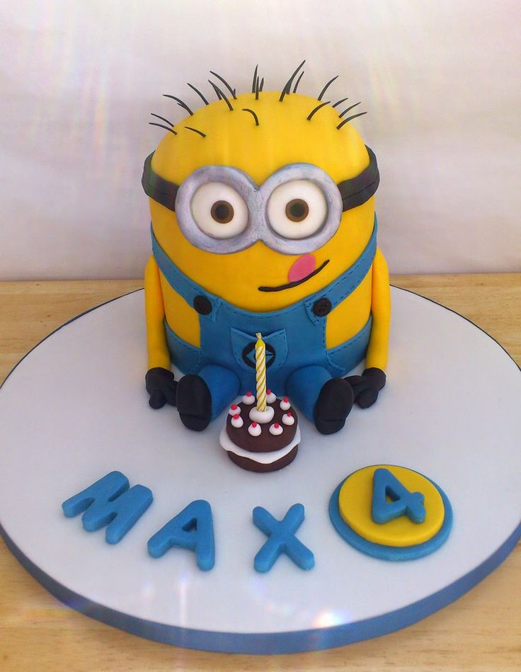See How Can You Do It Minion PartyCake