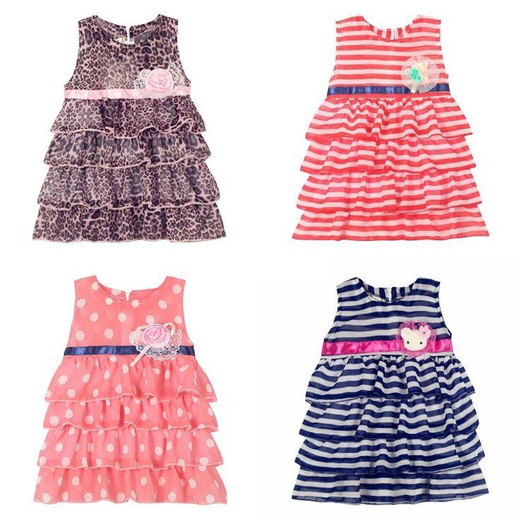 $5.59 (Buy here: https://alitems.com/g/1e8d114494ebda23ff8b16525dc3e8/?i=5&ulp=https%3A%2F%2Fwww.aliexpress.com%2Fitem%2FBig-Dot-2014-Girls-Summer-dresses-Children-kids-Short-sleeve-dress-cotton-bowtie-princess-girl-dress%2F1827301660.html ) Girls Layered Cake Dress 2016 summer girls dresses princess dress kids girls Stripe Polka Dot Leopard clothes kids clothes dress for just $5.59