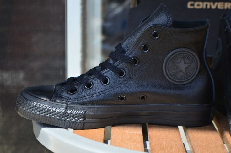 40356f015922 Converse All Star Black Leather High Top offerzone.co.uk