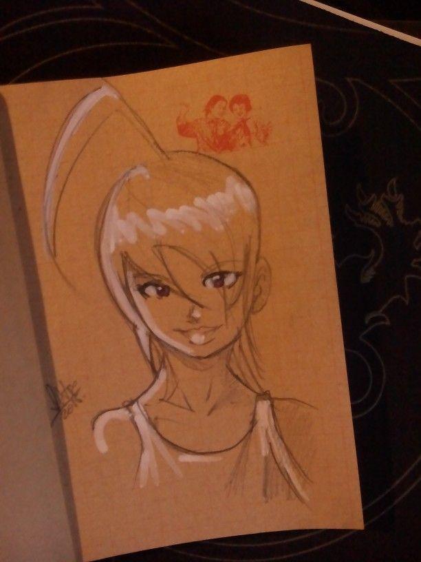 Sketch manga original