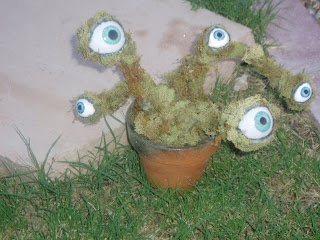 102 Wicked Things To Do: #8 Labyrinth Inspired Eyeball Plant - tutorial