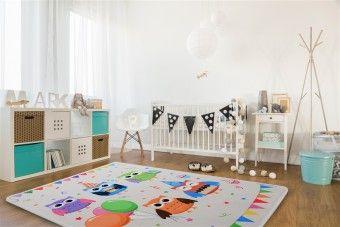 Dětský koberec SOFT OWL PARTY
