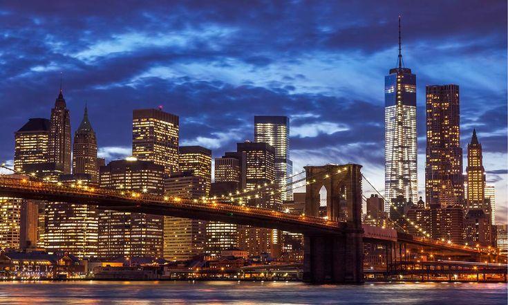 Постер канвас «Нью-Йорк 3», 30х50 см