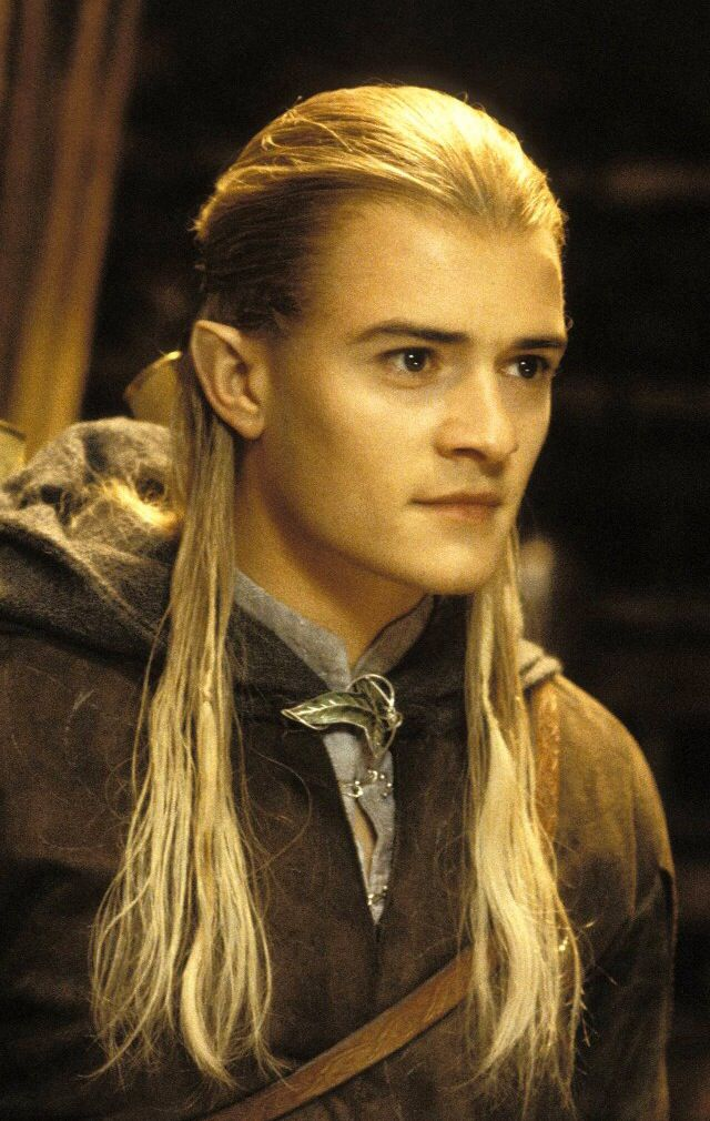 Lord of the Ring. Possibly the best still of Orlando's Legolas. His face in this photo really captures the elven liveliness, beauty, and seriousness all in one.