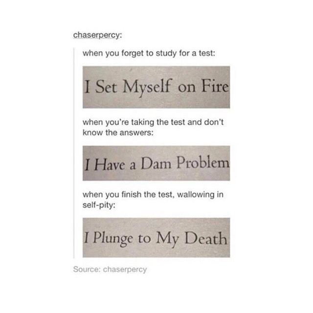 Percy Jackson out of context is the best thing!!
