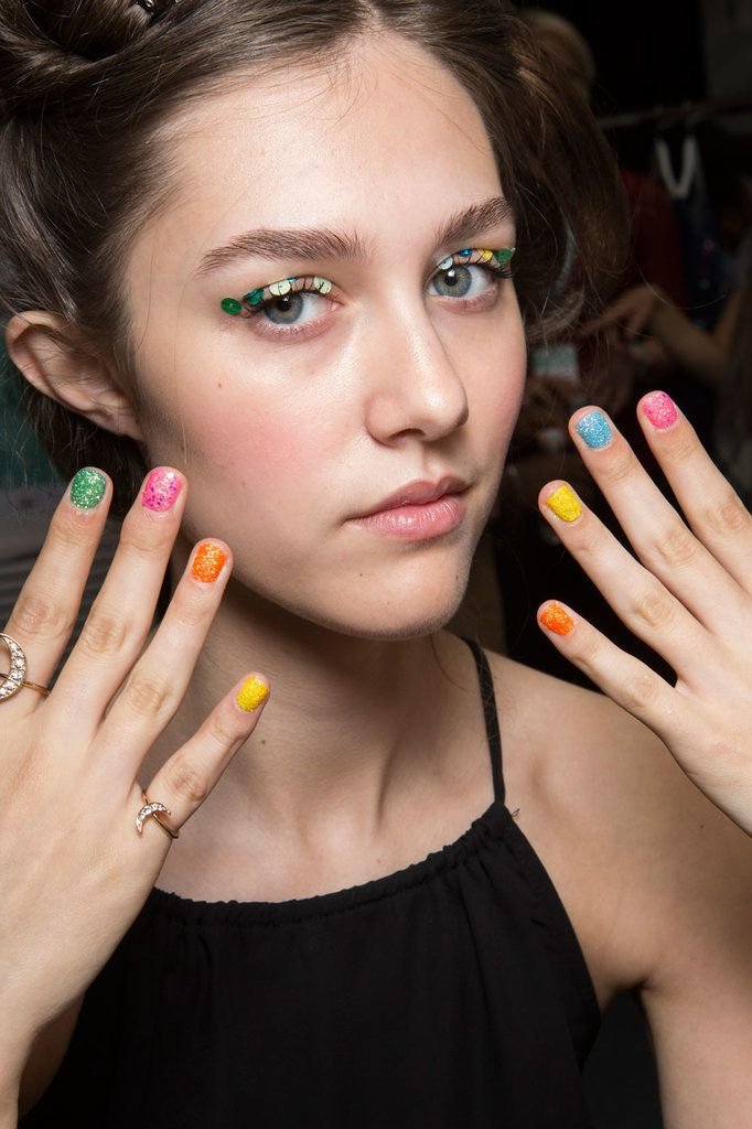 The Chicest Spring Nail Art Trends Straight From Milan: Some of the most revolutionary artists were from Europe: Pablo Picasso of Spain, Claude Monet of France, and Michelangelo of Italy, to name a few.