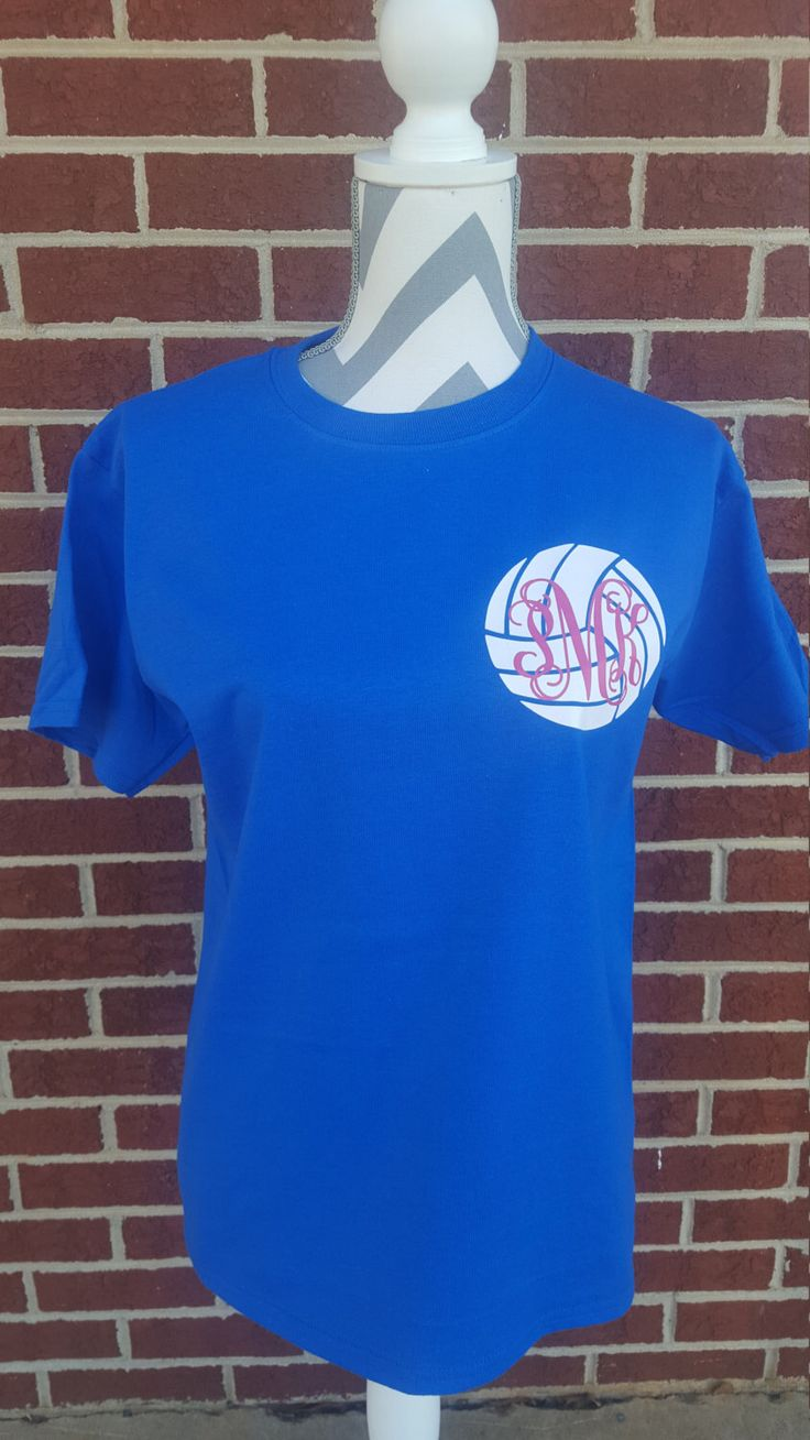 Monogrammed Volleyball Short Sleeve Shirt. Monogrammed Shirt. Volleyball Mom. Volleyball Shirt. Volleyball. Monogrammed Volleyball. by ElleQDesigns on Etsy https://www.etsy.com/listing/273364556/monogrammed-volleyball-short-sleeve