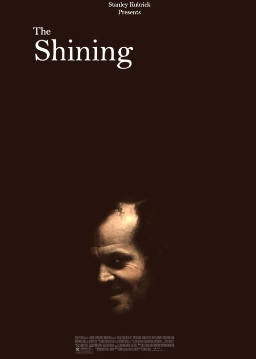 The Shining directed by Stanley Kubrick written by Stephen King