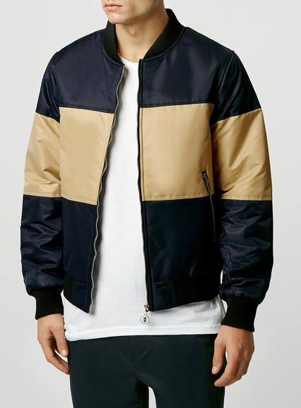 Daily Paper Blue Bomber Jacket