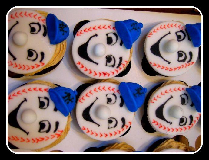 met cupcakes baseball caps opdruk cap logo