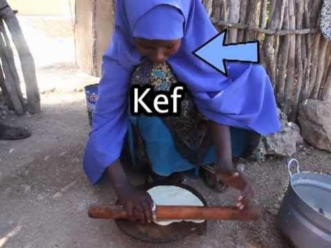 Somaliland - Bakken Kef en Kaifa oliebollen of olieflappen?