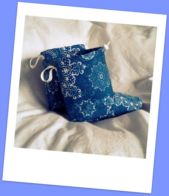 Barefoot Winter Softshell Baby Boots for by MomMadeBoots on Etsy