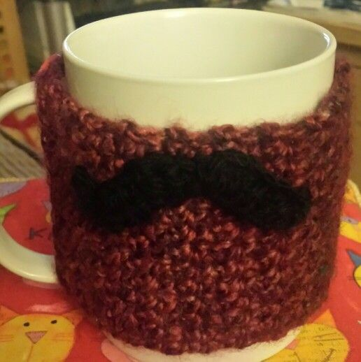 Cup cosie made for my friend #wscrafting @whitestuff