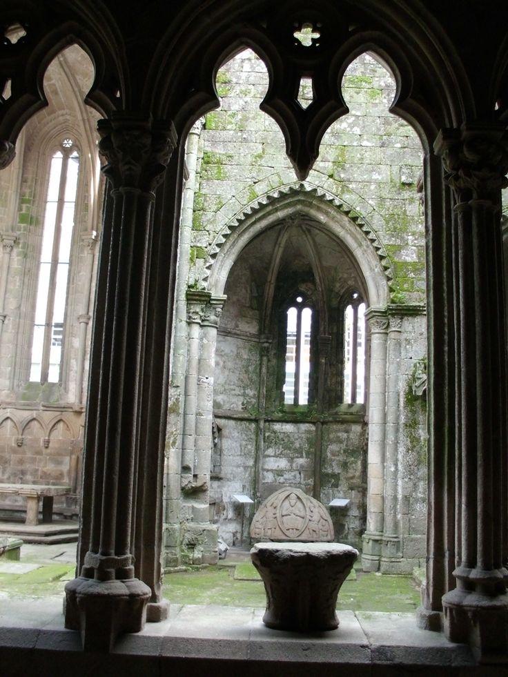 Ruins of Santo Domingo church (Pontevedra)