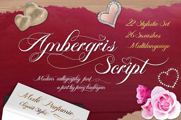 Ambergris (Open Sale Disc.30%) by feydesign on @creativemarket