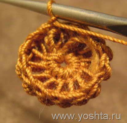 17 besten Häkelblumen / flower crochet Bilder auf Pinterest ...