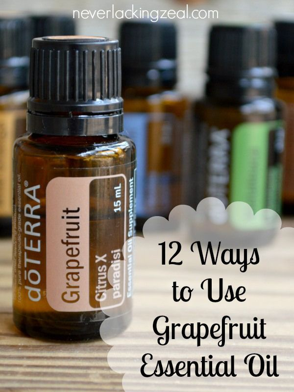 12 Ways to Use Grapefruit Essential Oil