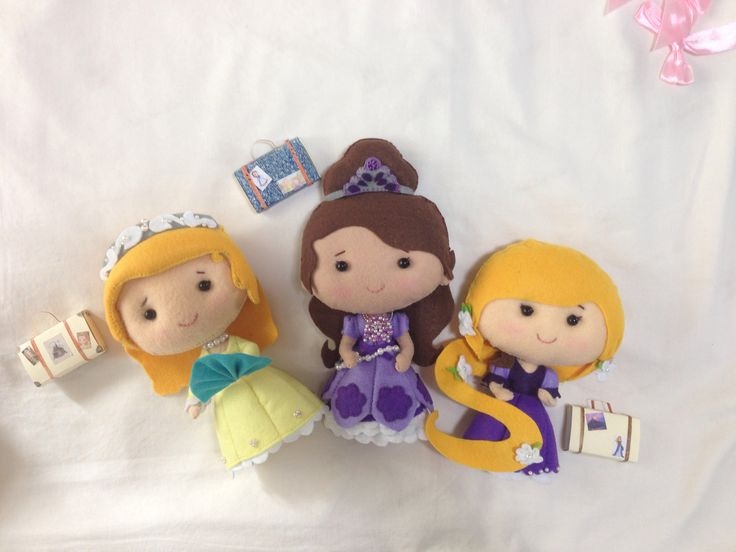 Rapunzel, Sophia the First and Amber