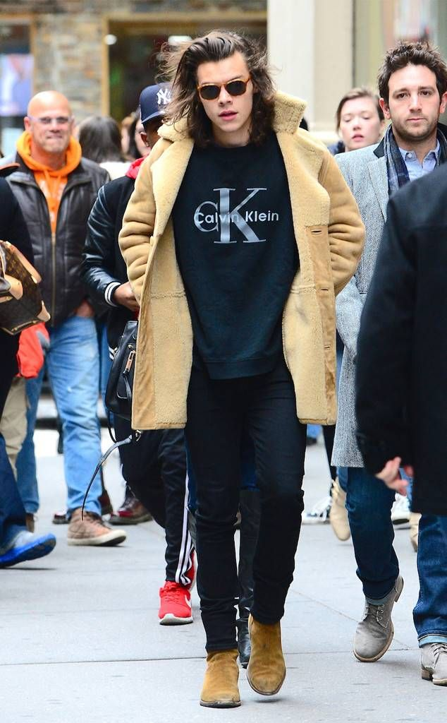 Coat Chic from Harry Styles' Best Looks in 2019 | one