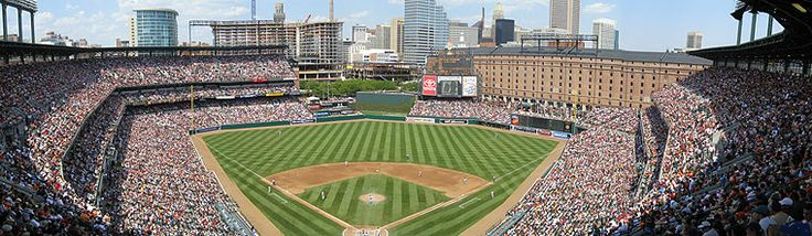 Oriole Park at Camden Yards in Baltimore