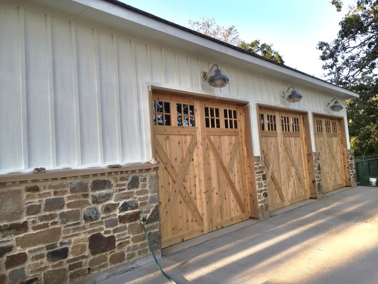 82 best my transitional farmhouse images on pinterest for Farm style garage doors