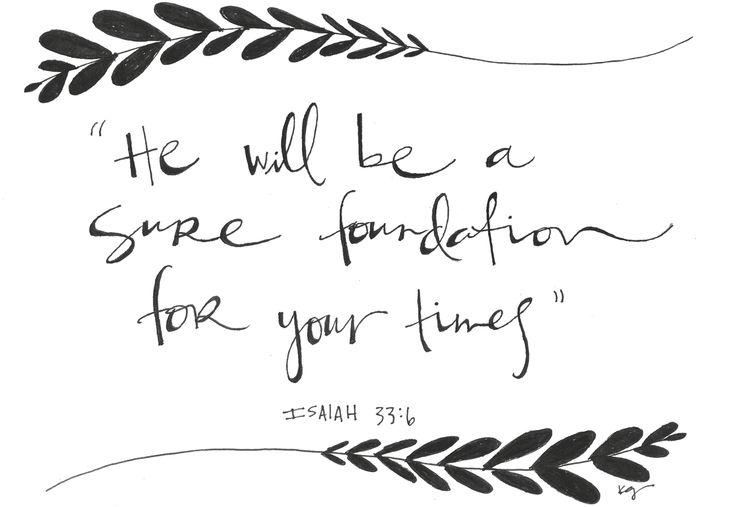 ISAIAH 33:6 Kgdoodles kghosket@gmail.com