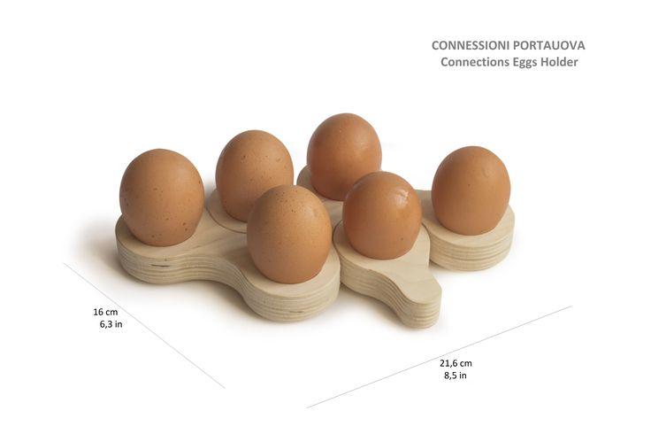 """""""Connections Egg Holder"""" G.Nus FurnITure & JBB atelier"""