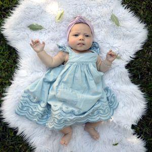http://lillyandlace.com.au/product-category/topknot-baby-fabric-headbands-australia/ baby newborn lilac top knot cotton headband