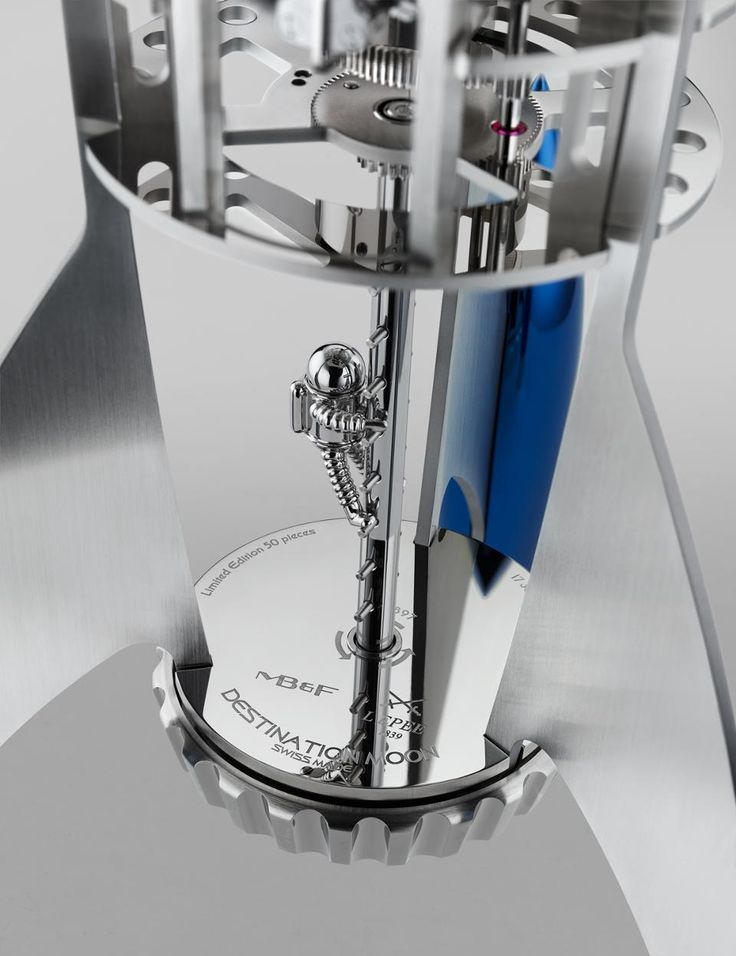 MB&F Destination Moon's Neil, the spaceman