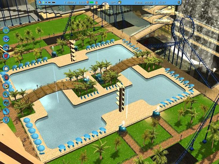 roller coaster tycoon entrance - Google Search
