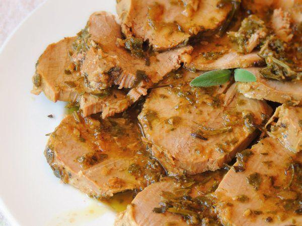 Girello Freddo in Salsa di Erbe Aromatiche | Dolce Senza Zucchero