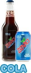 Sugar Free All Natural Cola Flavor. Zevia has a variety of flavors, like Dr Zevia, Lemon-Lime, Cream Soda, Cherry Cola, and Ginger Ale. Even a caffeine-free Cola. All Natural Stevia is used for the sweetener. Good for a treat or a mixer for vodka or rum when you want a cocktail :)