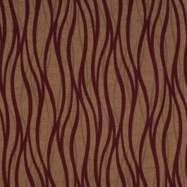 Red wavy striped upholstery fabric - Veldt Garnet by Charles Parsons Interiors #red #fabric #upholstery #charlesparsonsinteriors