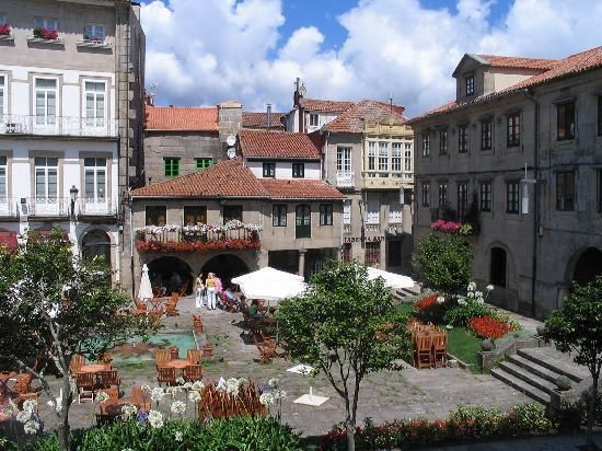 Pontevedra, GALICIA, España - The war between Spain and Portugal ended in this city, where a treat of peace was signed. My grandfather was born here.