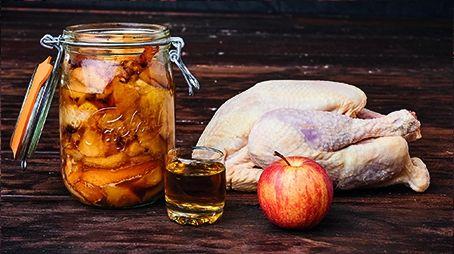 Poulet sauté d'Yvetot aux pommes
