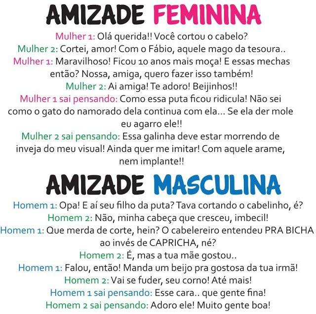 blogAuriMartini: Guerra dos sexos - As diferenças entre homens e mulheres com bom humor