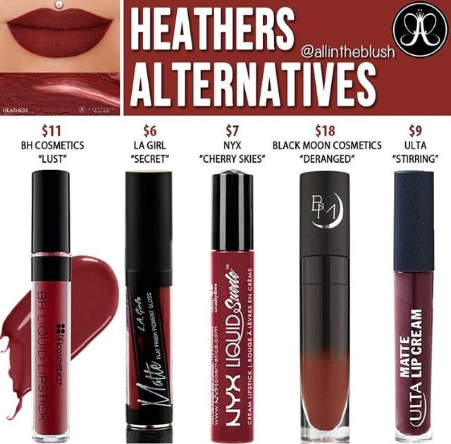ABH liquid lipstick dupe is shade heathers // @kathrynglee123