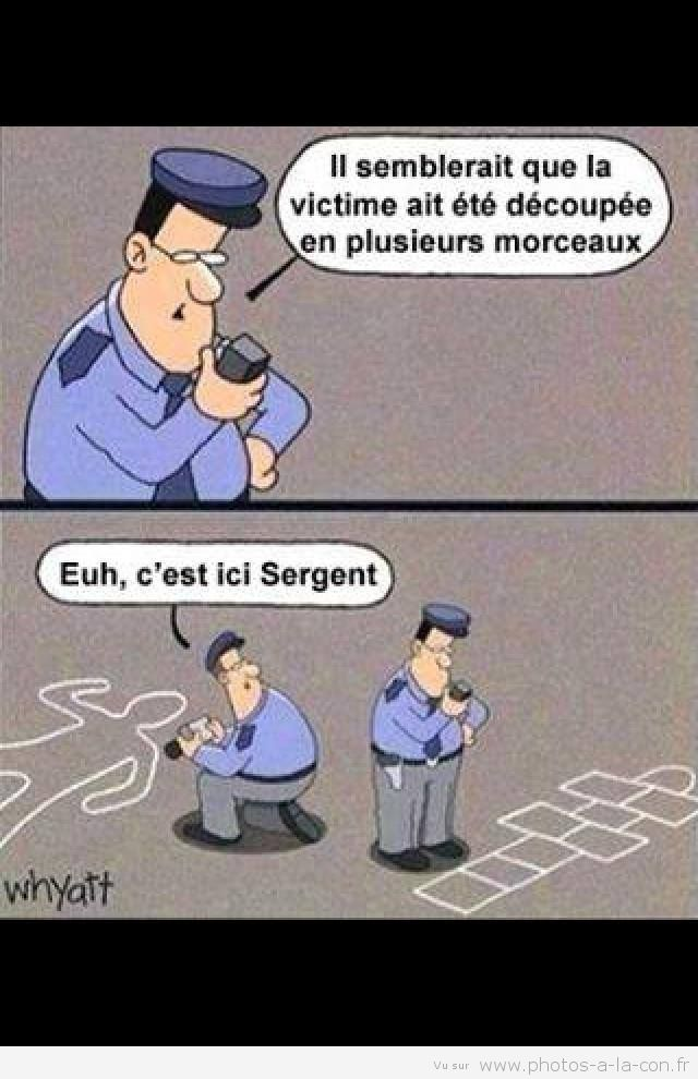 image drole police | il semblerait que....it would seem that....