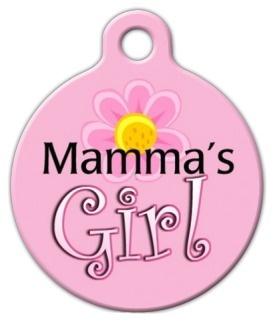 Mama's Girl Pet ID Tag