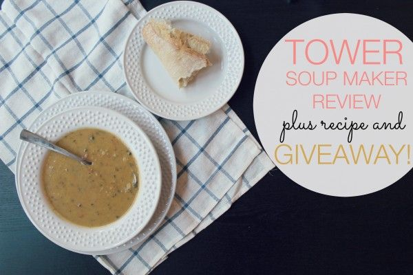 tower soup maker review