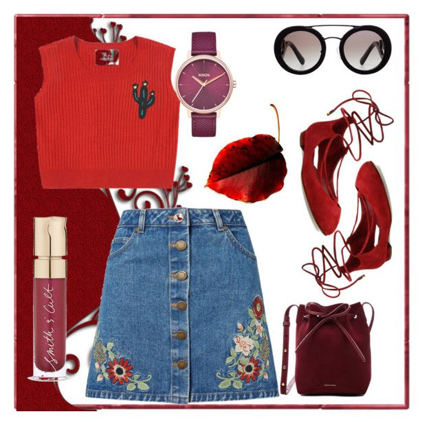 feelin' red  #swag #girl #dayout #outfit #ootd #pretty #style #simple #tumblr #trend #red #christmas #red