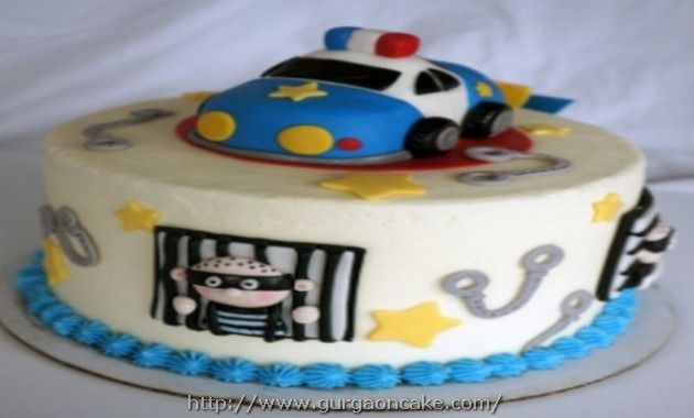 Police Birthday Cake Pictures