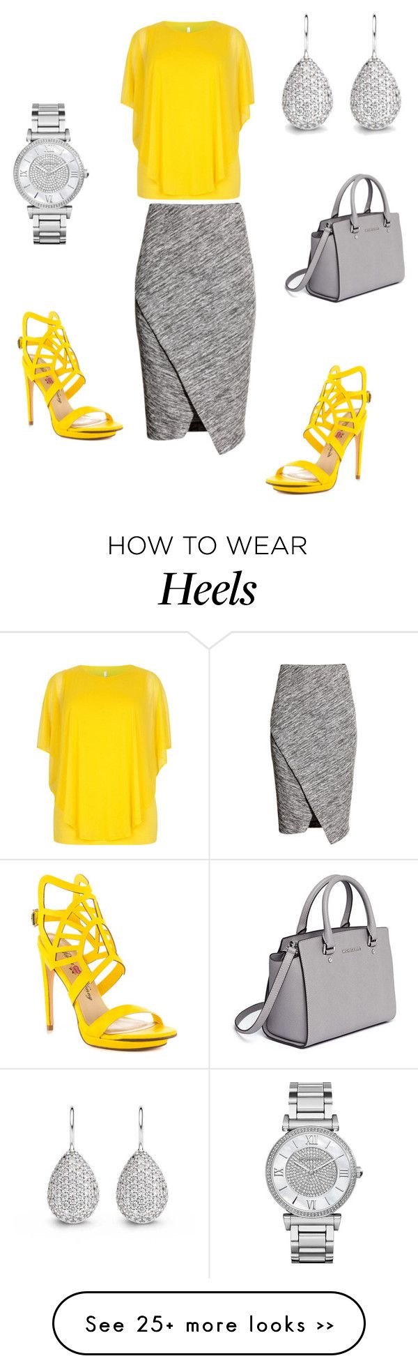 """""""Untitled #237"""" by essiekuda on Polyvore featuring H&M, Michael Kors, Penny Loves Kenny and MICHAEL Michael Kors"""